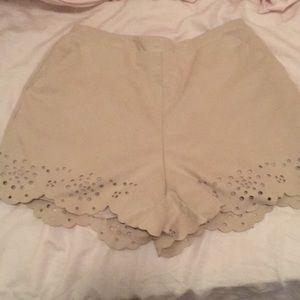 LC Lauren Conrad Shorts - Suede shorts